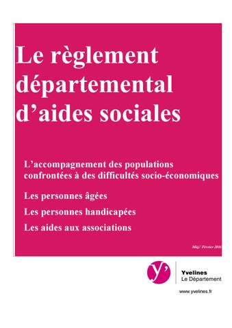 aide sociale conseil general yvelines