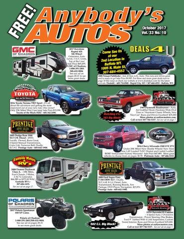 October 2017 by Anybodys Autos - issuu