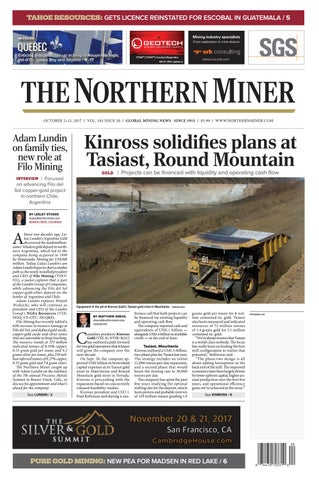 The Northern Miner Oct 2 2017 Issue by The Northern Miner