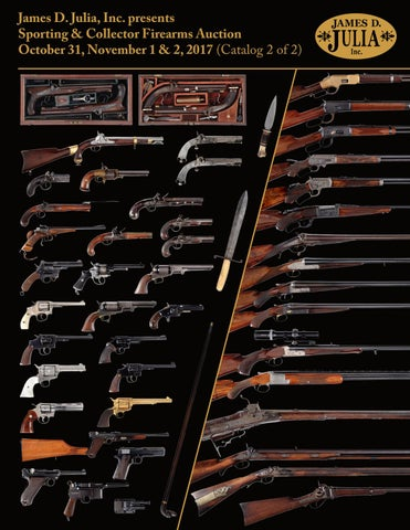 476cde368986 James D. Julia s Sporting   Collector Firearms Auction 10 31-11 1 17 ...