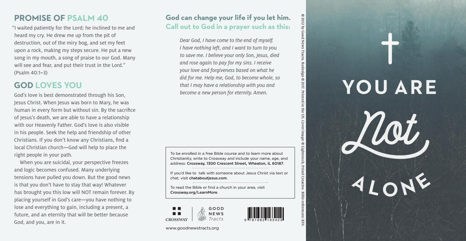 You Are Not Alone (ATS) by Crossway - issuu