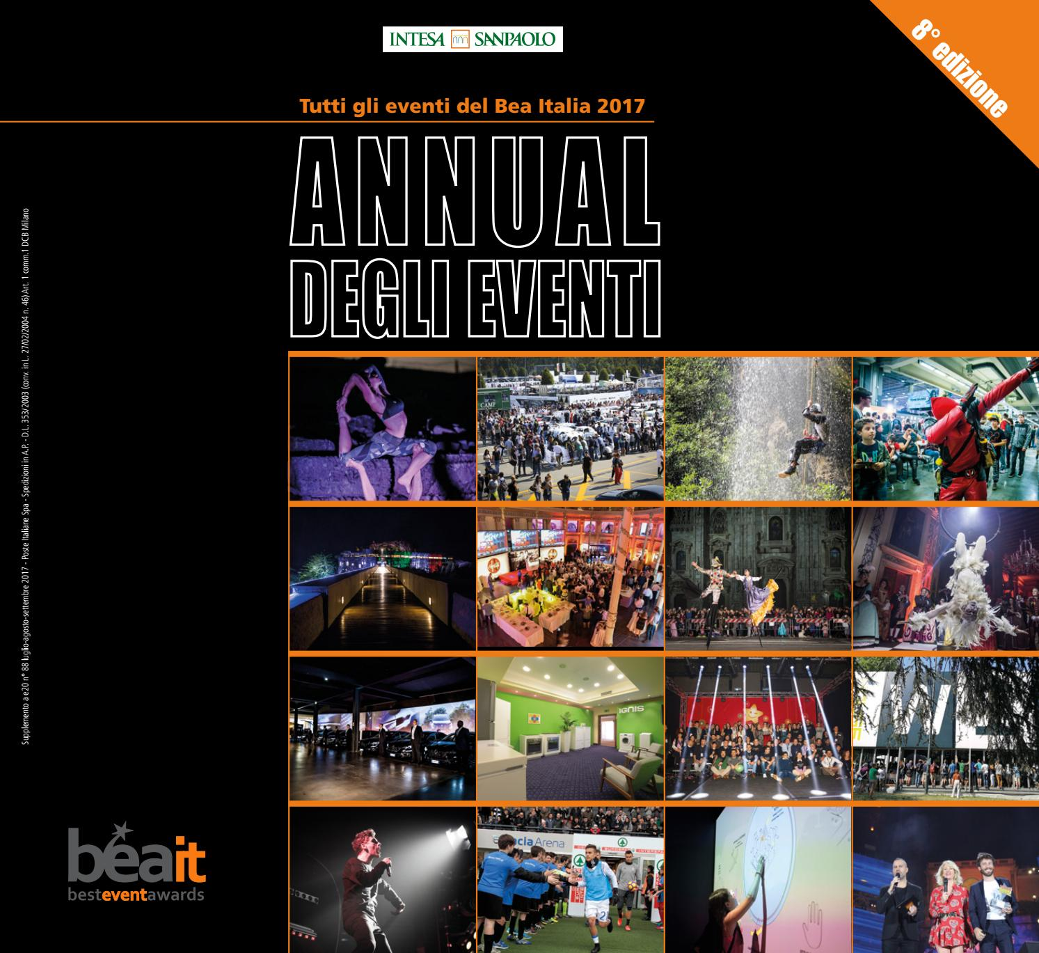 Annual degli Eventi 2017 - BEA Italia by ADC Group - issuu 57b3ec5227f