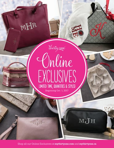 c8cc6b886edf7 Thirty-One Gifts Holiday Online Exclusives by kristinmoses - issuu