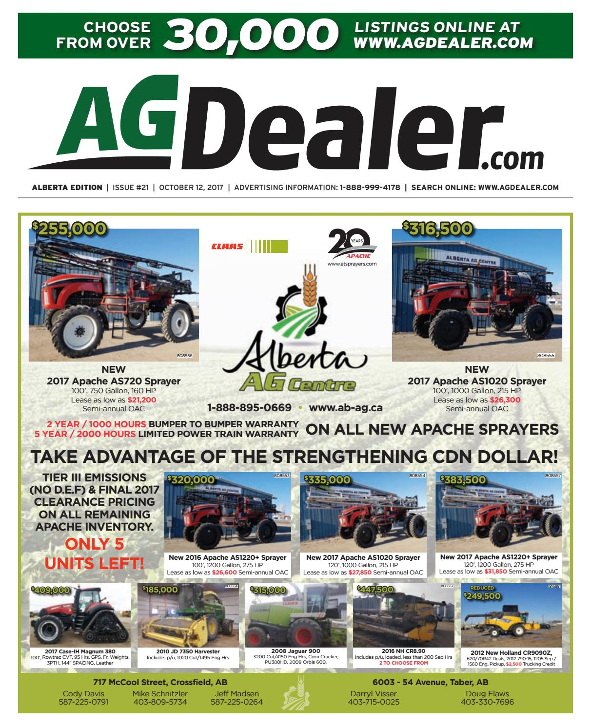 Wheel & Deal Alberta, October 12, 2017 by Farm Business ... on