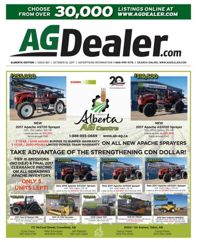 Wheel & Deal Alberta, October 12, 2017