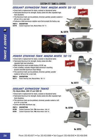Moroso 63780 Coolant Tank for Miata