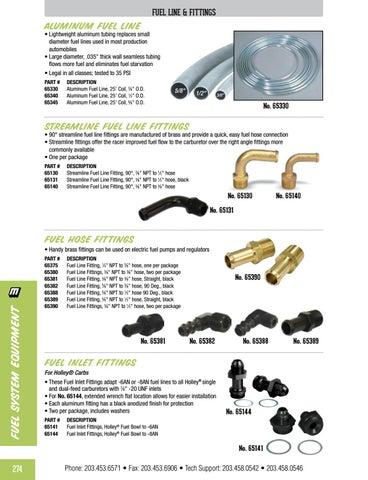 """Moroso 65140 Fitting Fuel Line 90 Deg 3//8/""""Npt-3//8/"""" Hose"""