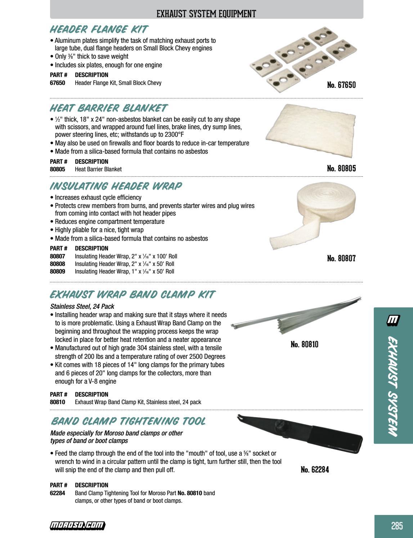 2018 full moroso catalog by Moroso Performance Products - issuu