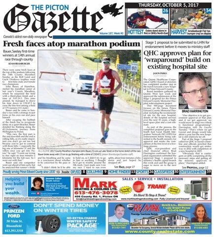 b6fce15abf Picton Gazette October 5