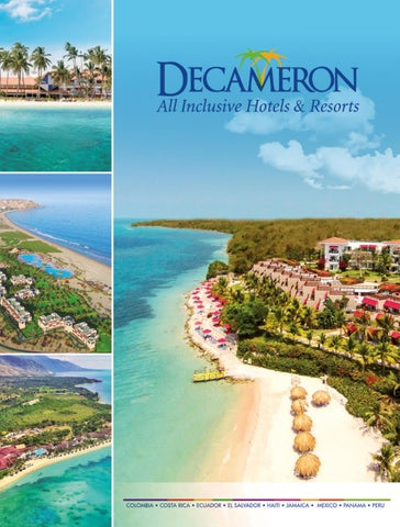 Brochure Decameron 2017 English By Hoteles Decameron Issuu