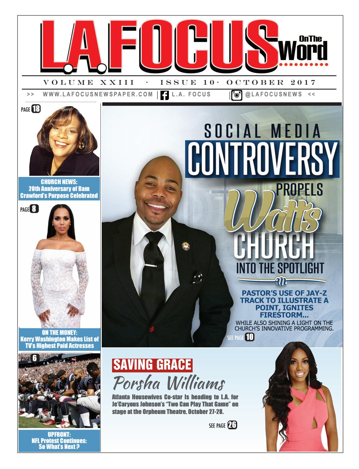 L A  Focus On The Word October 2017 Issue by LA Focus Newspaper - issuu