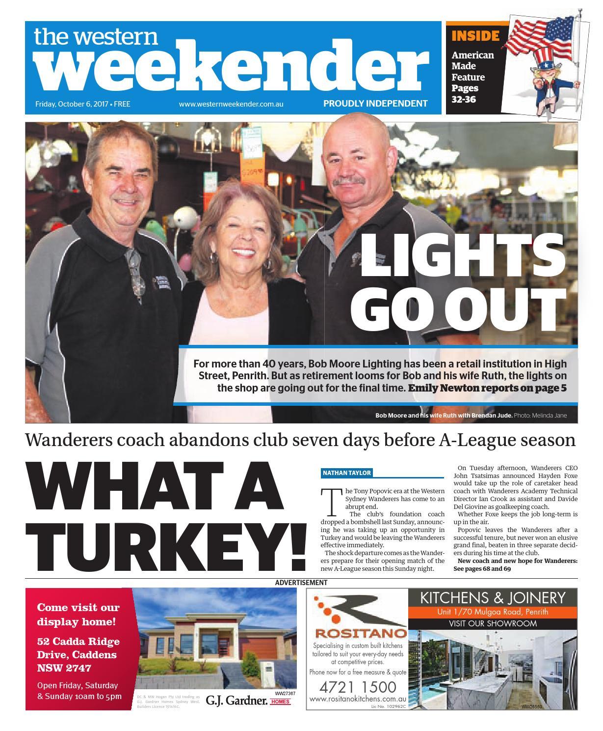 Western Weekender October 6 By Sydney Publishing