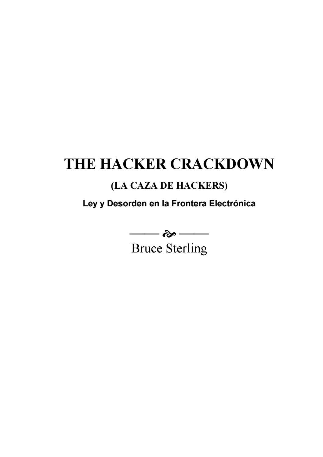 The hacker crackdown by Makanaochi - issuu