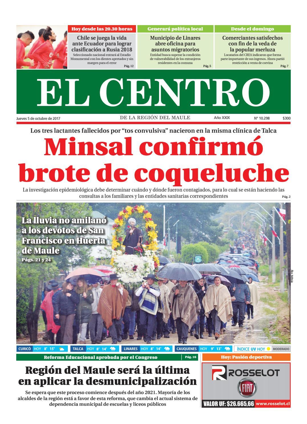 Diario 05-10-2017 by Diario El Centro S.A - issuu 151e6b46b3fc8