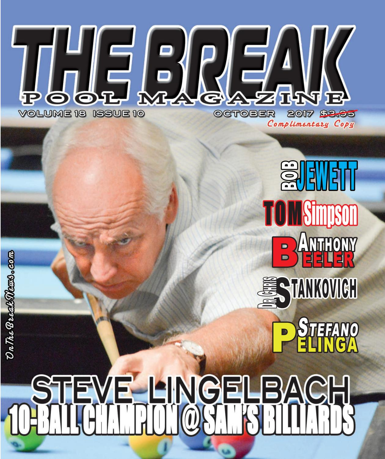 The Break Pool Magazine October Issue 2017 by The Break - issuu