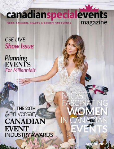 c4d47f43d7 Canadian Special Events Magazine Spring 2017 by Canadian Special ...