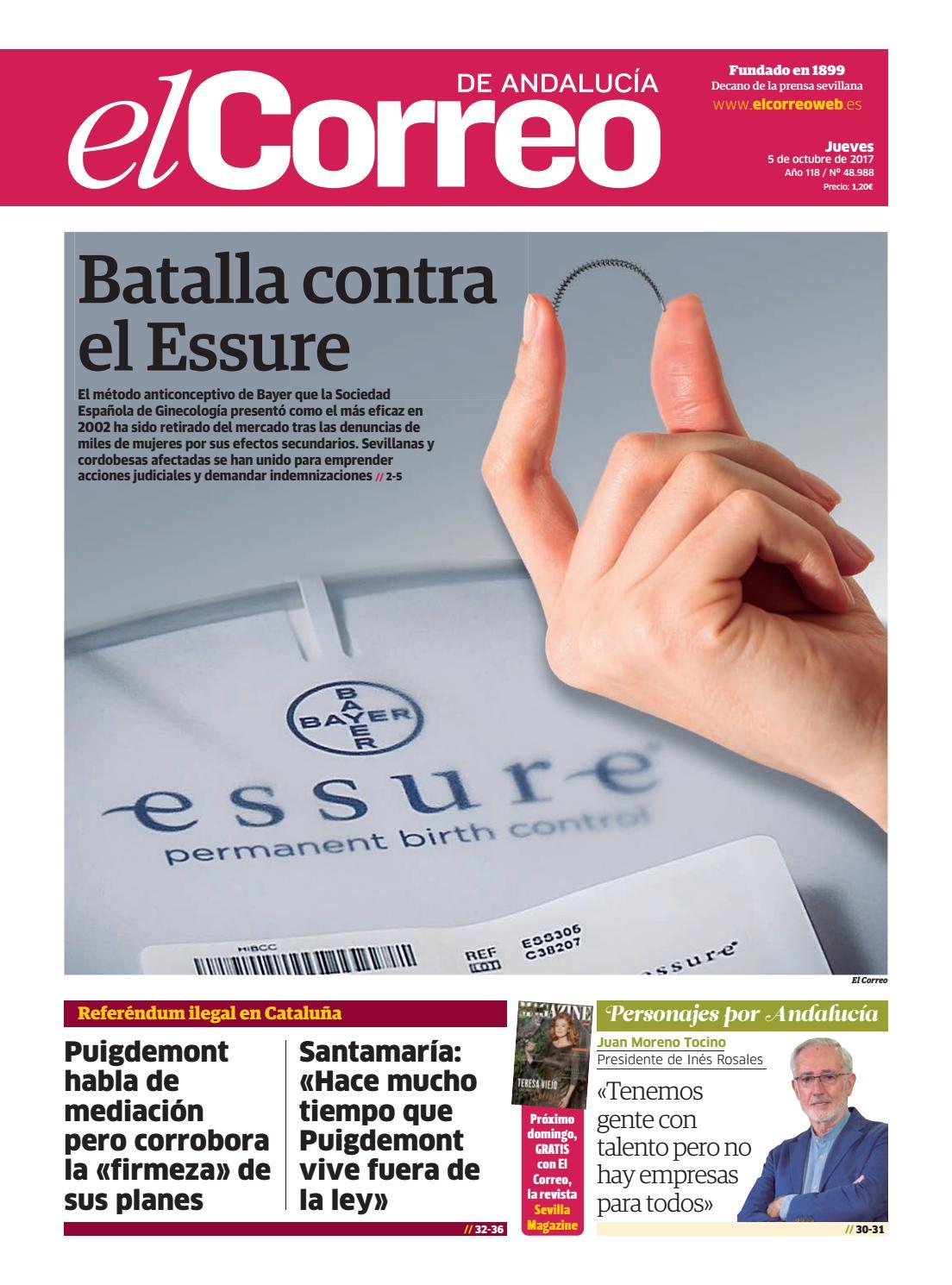 5524a4de76eea 05.10.2017 El Correo de Andalucía by EL CORREO DE ANDALUCÍA S.L. - issuu