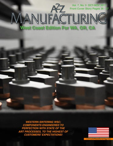 West Coast A2Z Manufacturing Magazine Oct 2017 by A2Z
