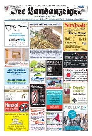 Der Landanzeiger 4017 By Zt Medien Ag Issuu