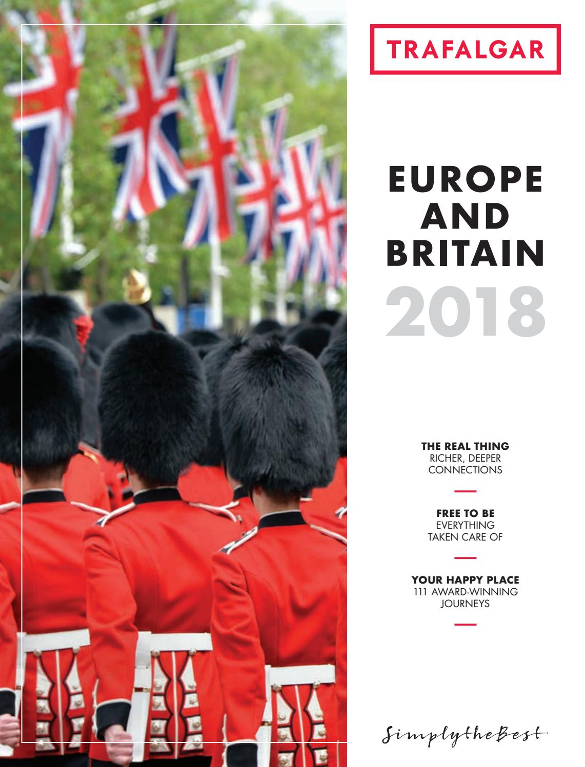 Europe and Britain 2018 for South Africa by Trafalgar - issuu 3bbc98e26cd