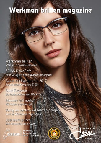 d08aa89566df50 Werkman Brillen magazine  60 jaar in Surhuisterveen by Werkman ...
