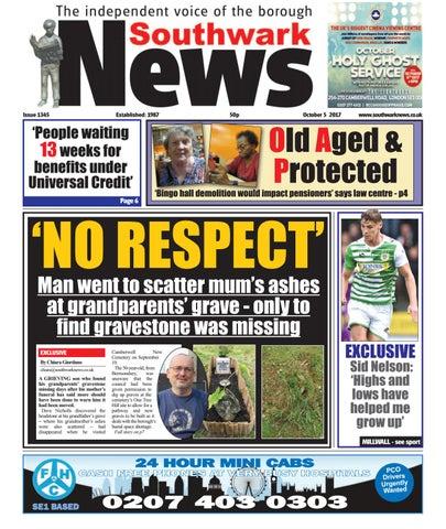 816034bc95 Southwark News by Southwark News - issuu