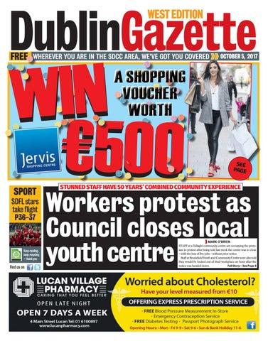 West by Dublin Gazette - issuu aef1a1ba6e932