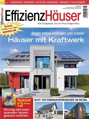 EffizienzHäuser 6/7 2015 By Fachschriften Verlag   Issuu