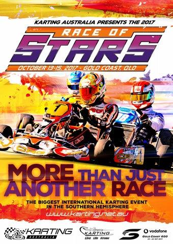 2017 Race of Stars Event Program by Karting Australia - issuu