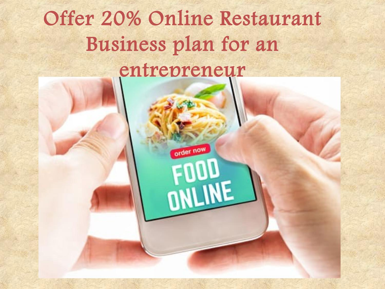 Online restaurant business plan professional dissertation results writing service for university
