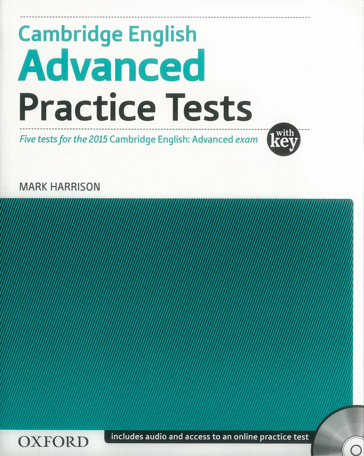Cambridge english advanced practice test 4 10 2017 by EBOOK