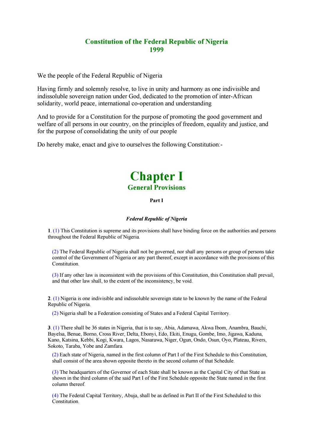 Federal Republic of Nigeria: capital, flag, people, language, geography 26