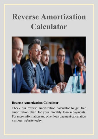 reverse amortization calculator by harry tailor issuu