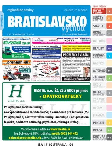 Bratislavsko 17-40 by Bratislavsko Bratislavsko - issuu ae587f0f5e0