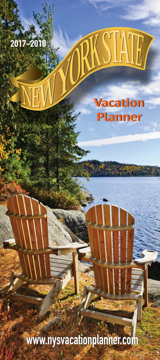 New York State Vacation Planner 2017-18 edition by