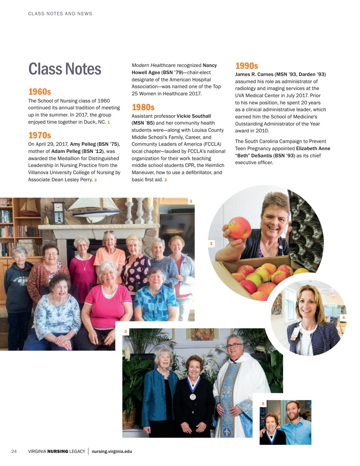Virginia Nursing Legacy Fall 2017 by Virginia Nursing Legacy