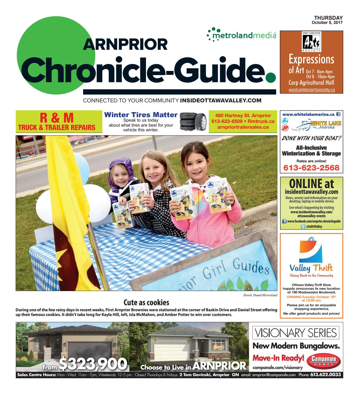 Arnprior100517 by Metroland East - Arnprior Chronicle-Guide - issuu