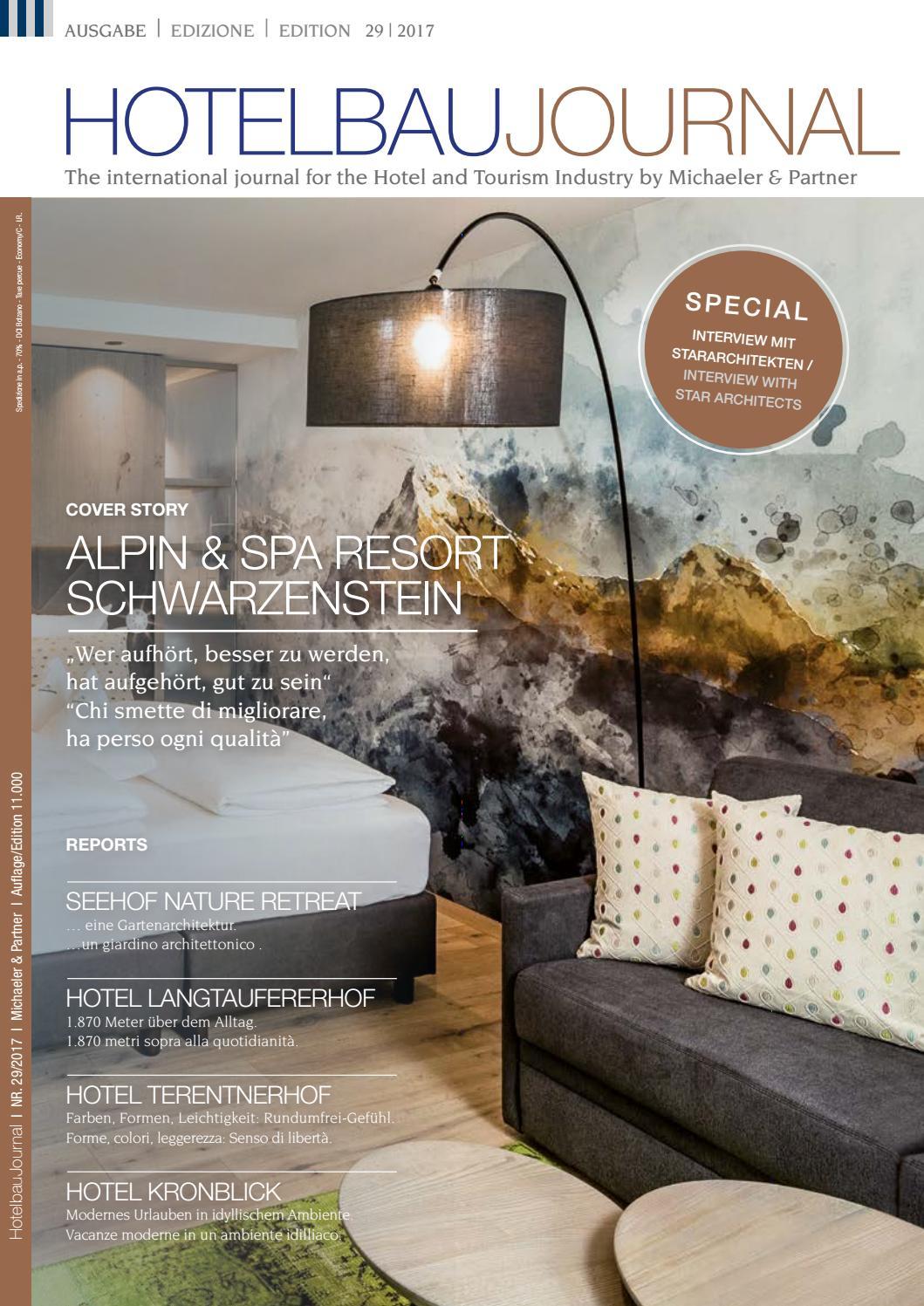 M&P Hotelbaujournal Nr. 29 (September 2017) by Michaeler