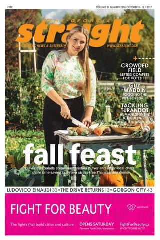 The Georgia Straight - Fall Feast - Oct 5 ad644b439eb5