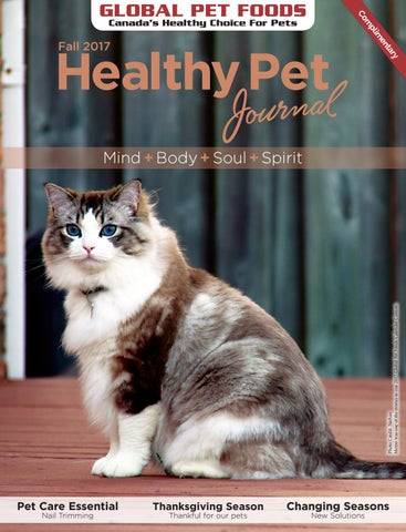 Global Pet Foods Healthy Pet Journal - Fall 2017 issue