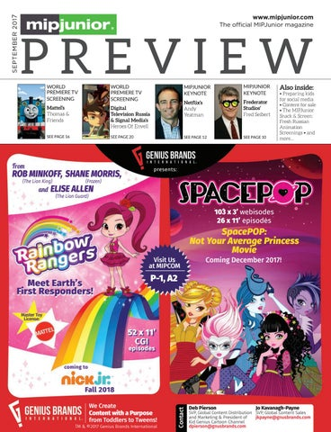 Mipjunior 2017 Preview Magazine By Mipmarkets Issuu