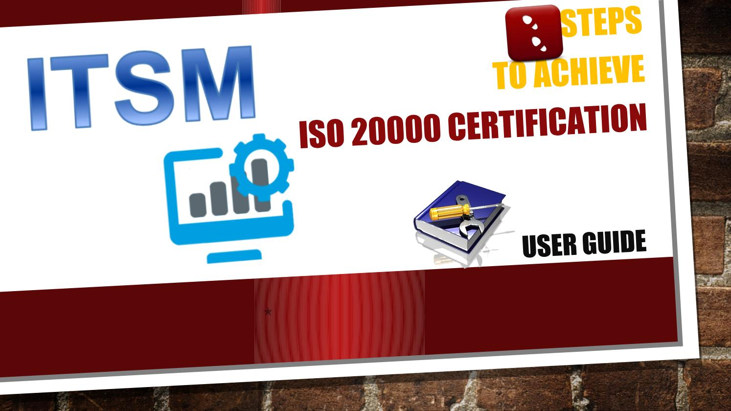 Itsm Steps For Iso 20000 Itsm Certification Managers Handy