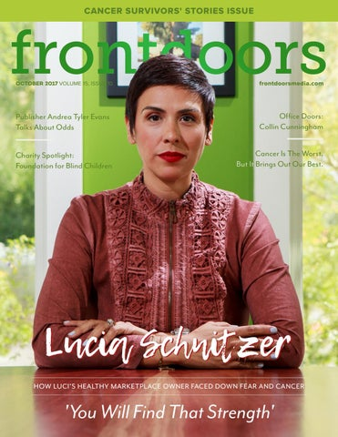 Frontdoors Magazine October 2017 By Frontdoors Media Issuu