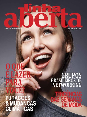 Linha Aberta Brazilian Magazine October 2017 by Linha Aberta ... a051cdf314