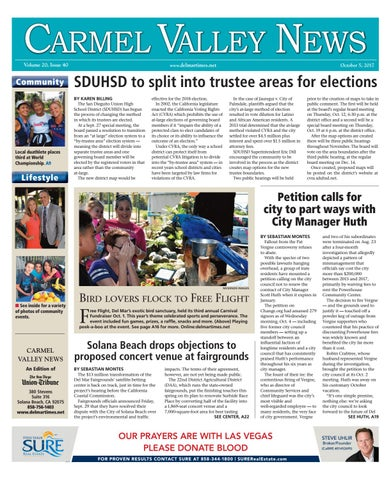a3832671cbd Carmel Valley News 10 05 17 by MainStreet Media - issuu
