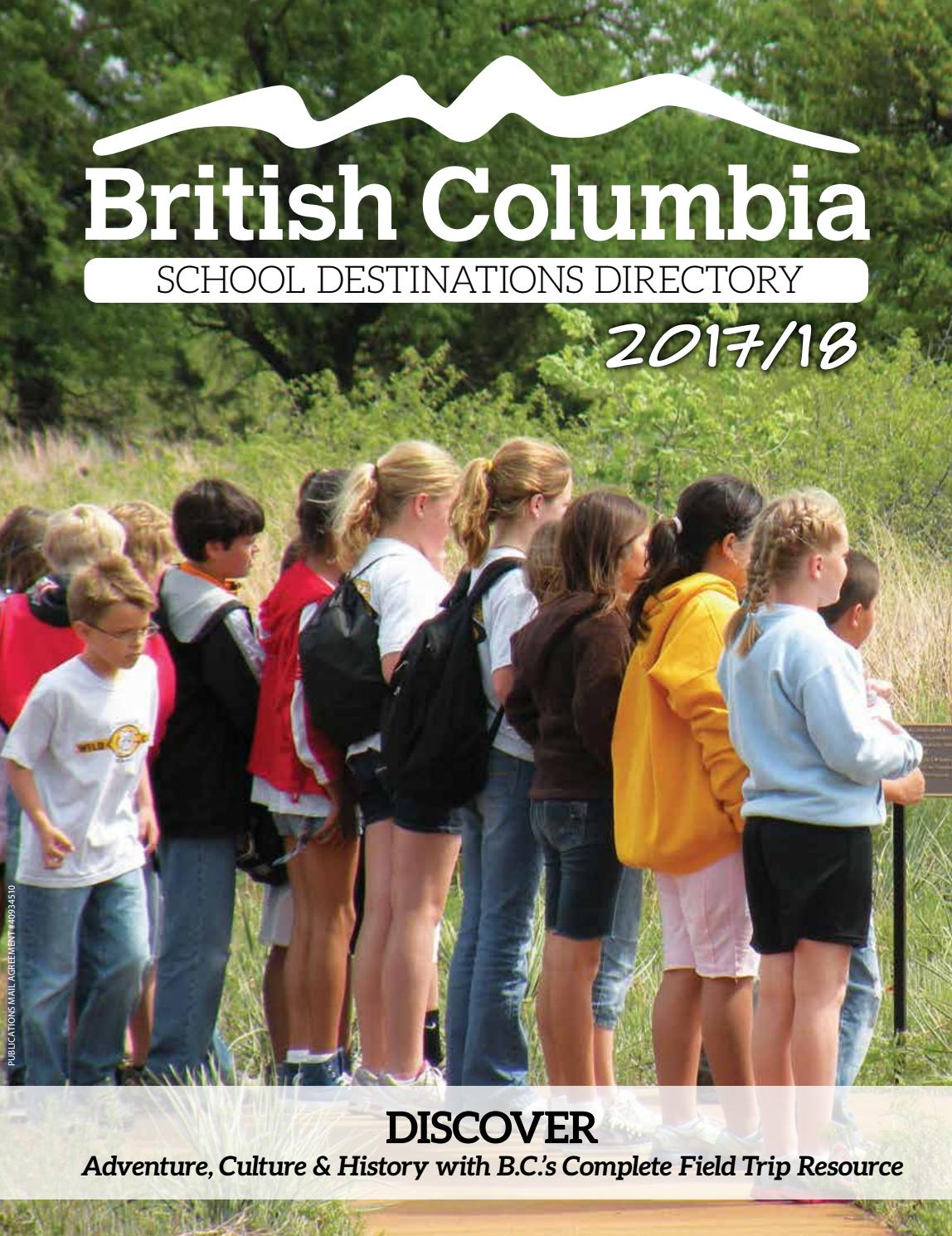35417079f59a0a BC School Destinations Directory 2017-18 by DEL Communications Inc ...