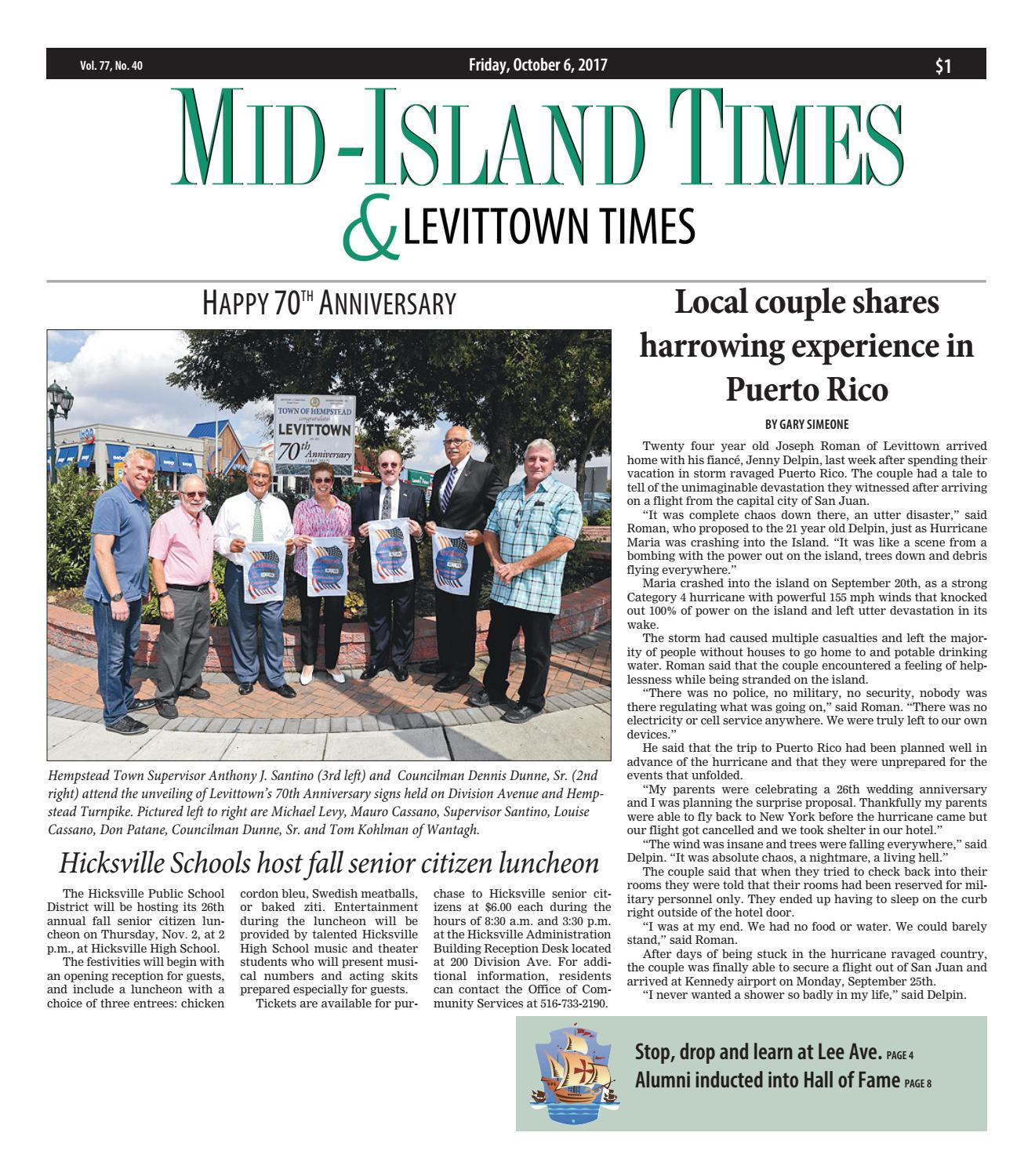 Mid-Island Times & Levittown News by Litmor Publishing - issuu