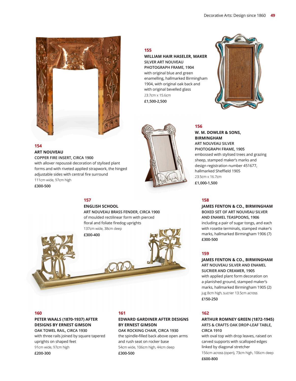 45f0eec64cb Decorative Arts  Design since 1860 by Lyon   Turnbull - issuu