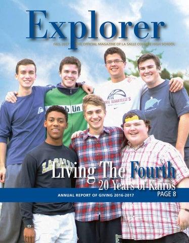 Explorer Magazine - Fall 2017 by La Salle College High