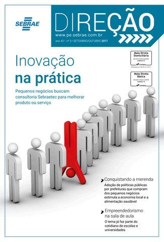 Revista Direção (Setembro-Outubro 2017) by Sebrae PE - issuu 3218f40475